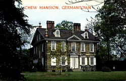 The Chew Mansion, Johnson St. and Germantown Ave.