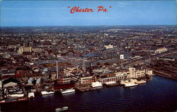 Aerial View Of Chester