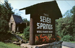 Historic Water Wheel, Seven Springs Mountain Resort