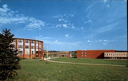 Vincent Science Hall College Union And College Library, Slippery Rock State College