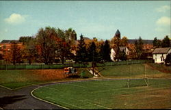 Track And Campus, Slippery Rock State Teachers College Postcard
