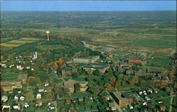 Air View Of Slippery Rock State College