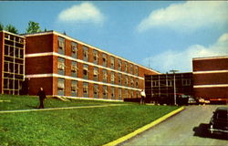 Patterson Hall, Slippery Rock College Postcard