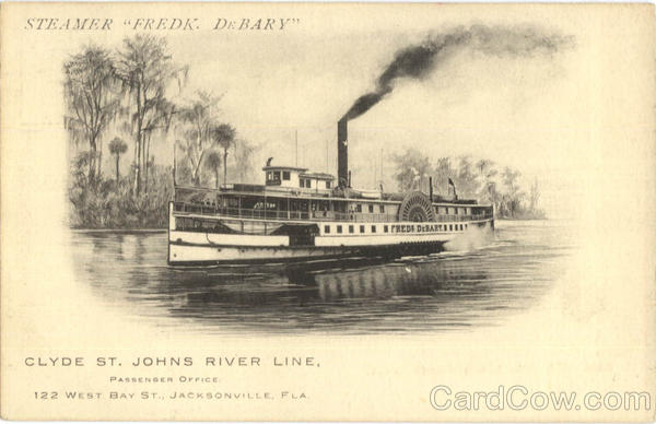 Clyde Steamship Co Steamer Fredk. DeBary Boats, Ships