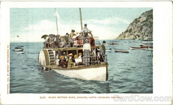 Glass Bottom Boat, Avalon Santa Catalina Island California