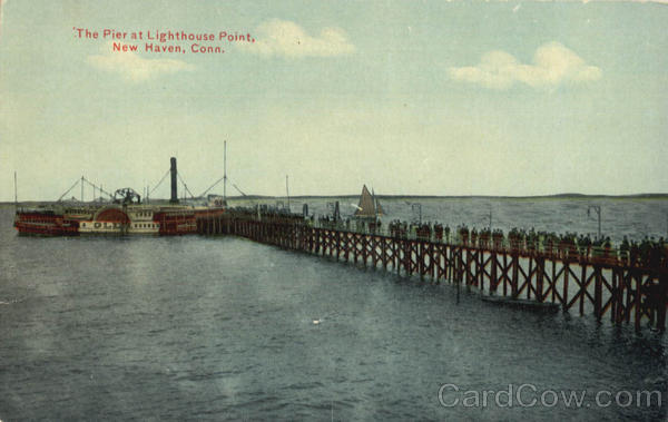 The Pier at Lighthouse Point, SS Glen New Haven Connecticut
