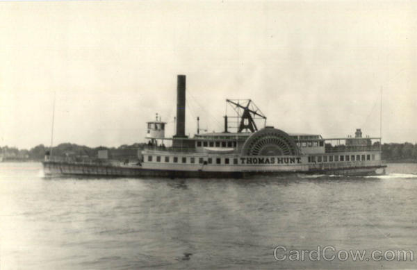 SS Thomas Hunt Red Bank Steamboat Co. Boats, Ships