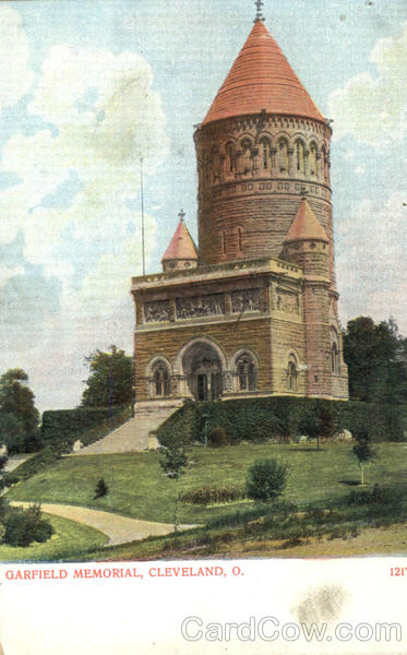 Garfield Memorial Cleveland Ohio