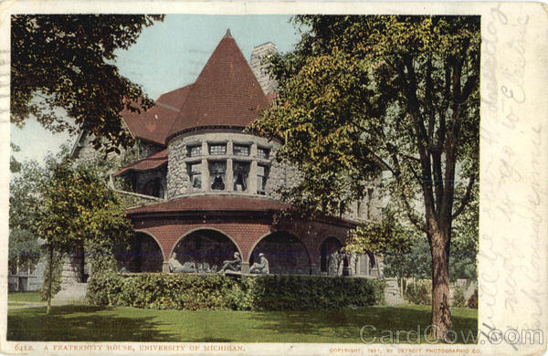 A Fraternity House, University of Michigan Dearborn