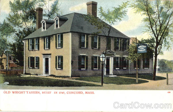 Old Wright Tavern Concord Massachusetts