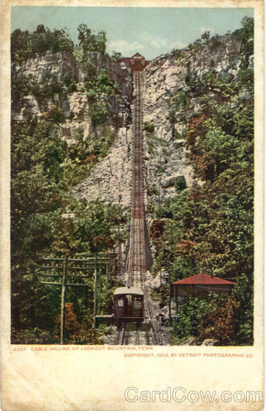 Cable Incline up Lookout Mountain Tennessee