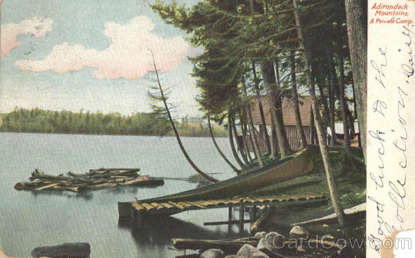 Adirondack Mountains, A Private Camp New York