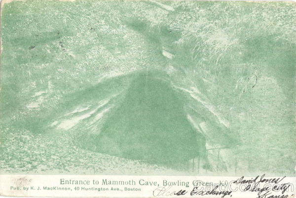 Entrance to Mammoth Cave Bowling Green Kentucky