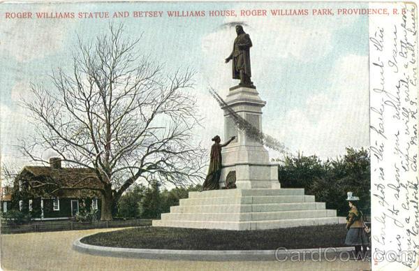 Roger+williams+statue
