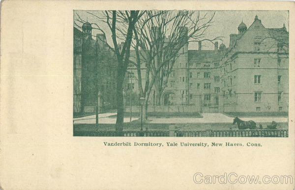 Vanderbilt Dormitory, Yale University New Haven Connecticut