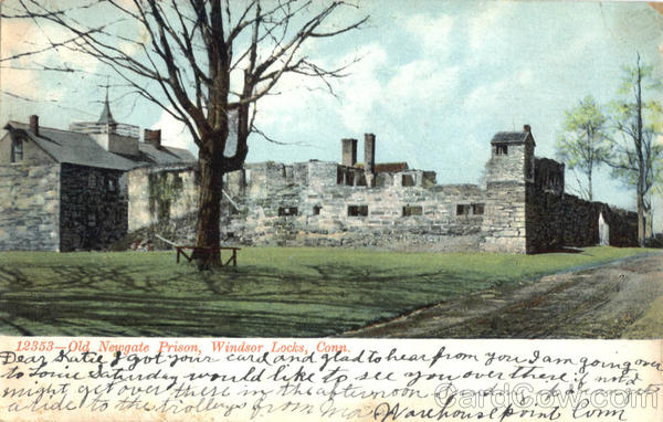 Old Newgate Prison Windsor Locks Connecticut Prisons