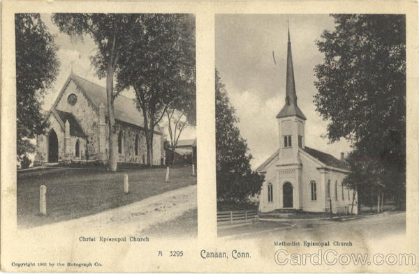 Christ Episcopal Church, Methodist Episcopal Church Canaan Connecticut