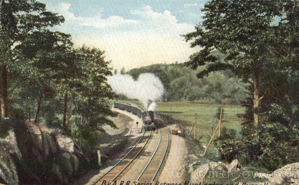 B & A.R.R. Series. Between Huntington and Russell Railroad (Scenic)