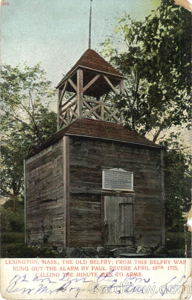 The Old Belfry Lexington Massachusetts