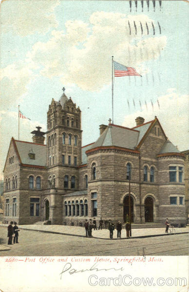 Post Office and Custom House Springfield Massachusetts