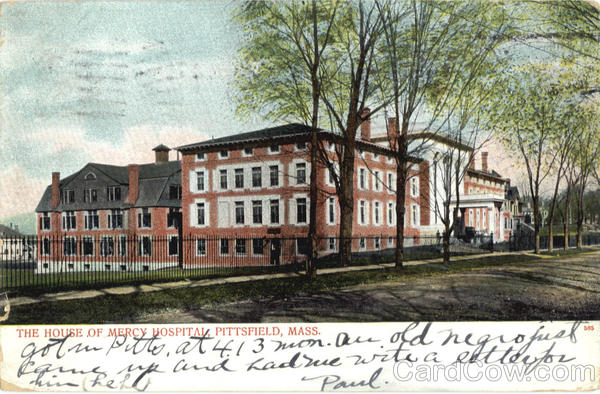 The House of Mercy Hospital Pittsfield Massachusetts