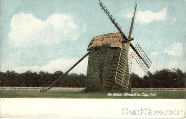 The Oldest Windmill on Cape Cod Massachusetts
