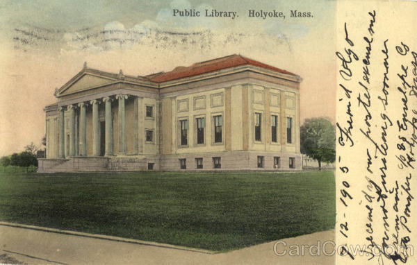Public Library Holyoke Massachusetts