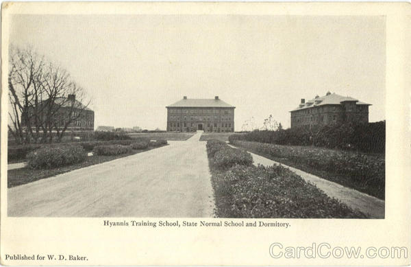 Hyannis Training School, State Normal School and Dormitory. Massachusetts
