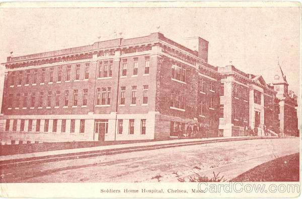 Soldiers Home Hospital Chelsea Massachusetts