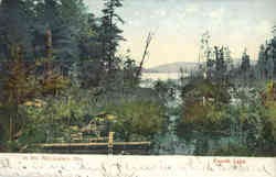 In the Adirondack Mts, Fourth Lake