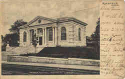 George Maxwell Memorial Library Postcard
