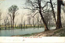 A View on the Mohawk River Postcard