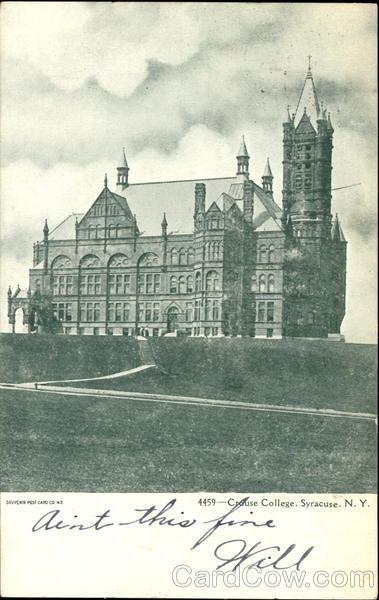 Crouse College Syracuse New York