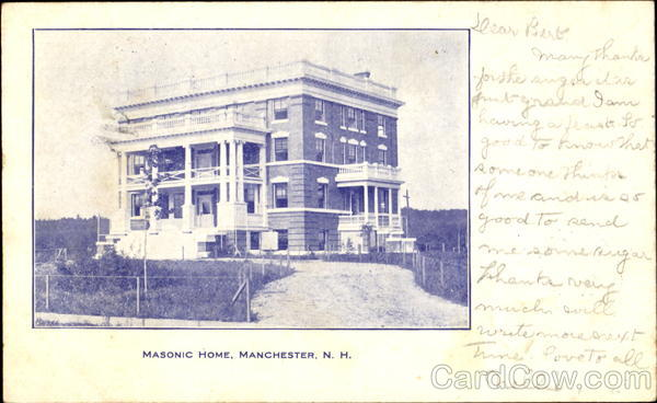 Masonic Home Manchester New Hampshire Freemasonry