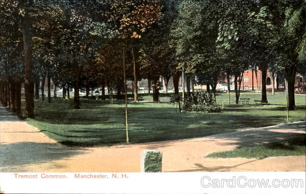 Tremont Common Manchester New Hampshire