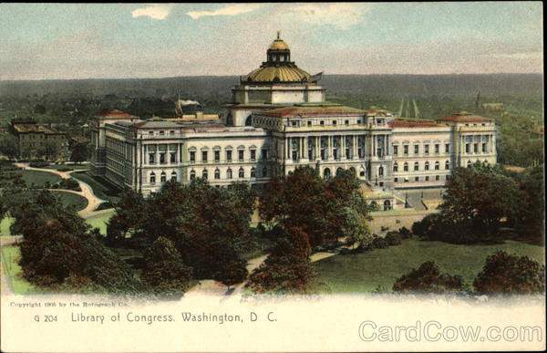 Library Of Congress Washington District of Columbia