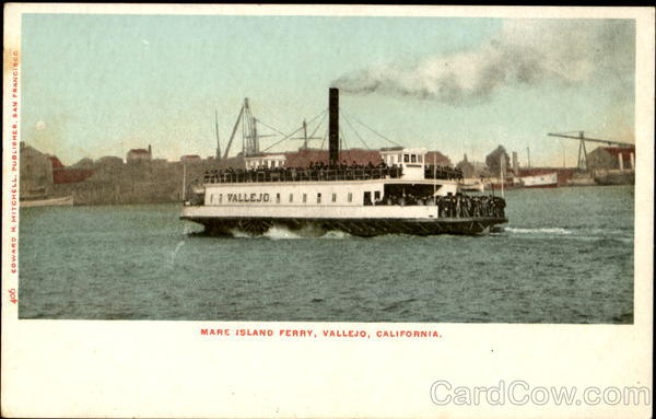 Mare Island Ferry Vallejo California