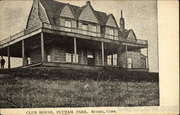 Club House, Putnam Park Bethel Connecticut