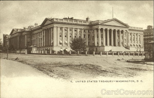 United States Treasury Washington District of Columbia