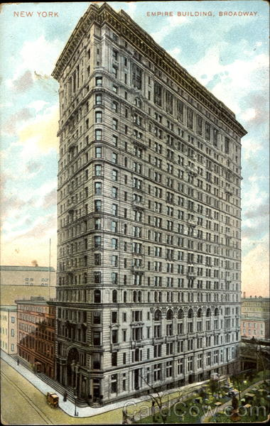 Empire Building, Broadway New York