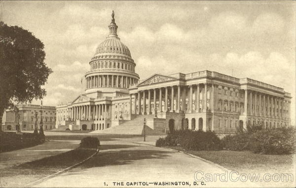 The Capitol Washington District of Columbia