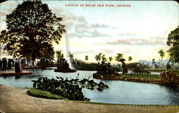 Lagoon In Belle Isle Park Detroit Michigan
