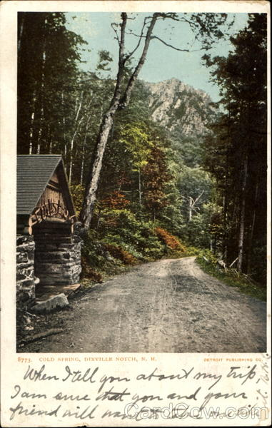 Cold Spring Dixville Notch New Hampshire