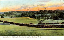 Golf Links Wykagyle Country Club Postcard