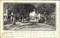 Maple Ave Postcard