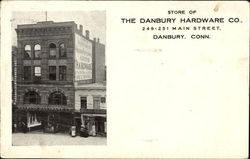 Store Of The Danbury Hardware Co, 249-251 Main Street