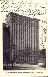 Bowling Green Building Postcard