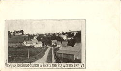 View From Rock Island Station Postcard