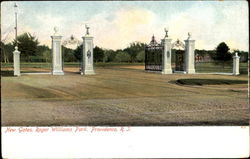 New Gates, Roger Williams Park Postcard
