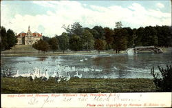 Lake And Museum, Roger Williams Park